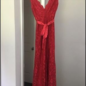 Beautiful Red dress/ evening gown